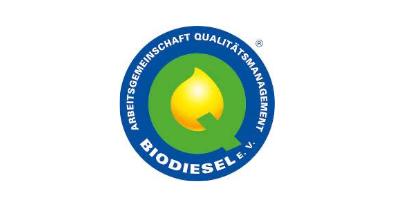 Arbeitsgemeinschaft Qualitätsmanagement Biodiesel Siegel